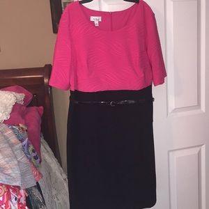 Alyx pink n black dress